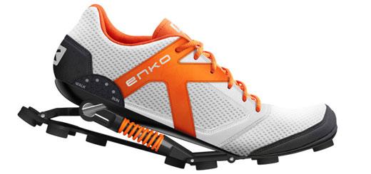 Enko présente les chaussures running du futur