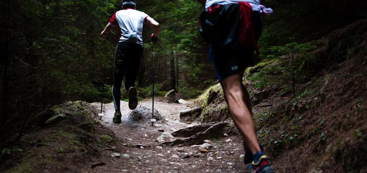 course de trail