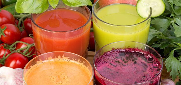 Pour garder la forme, buvez du jus de fruits et légumes !