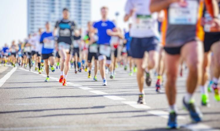 marathon sous le soleil