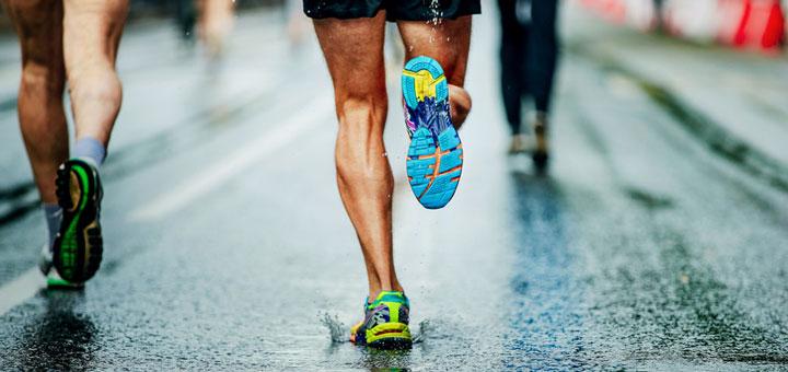 technique course à pied